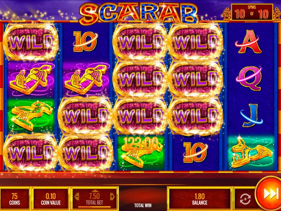 Scarab slot game
