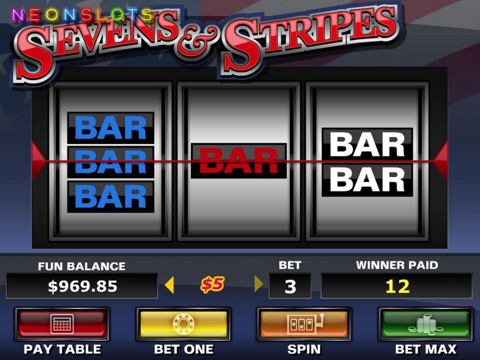 Sevens & Fruits slot game