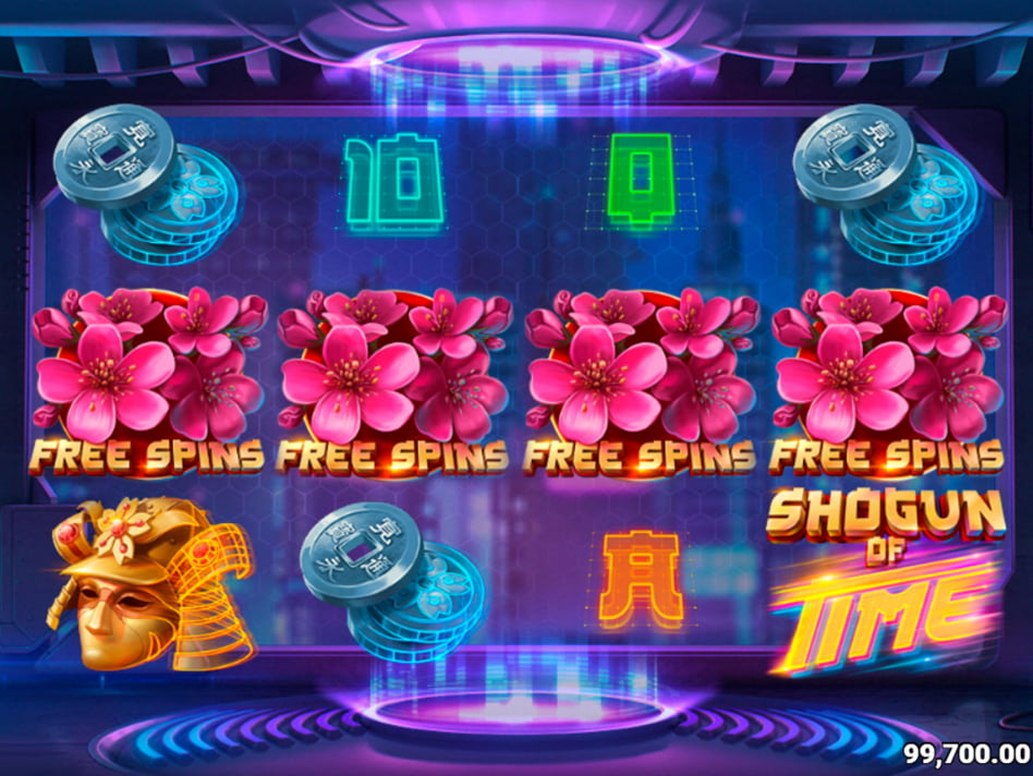 Shogun of Time slot game