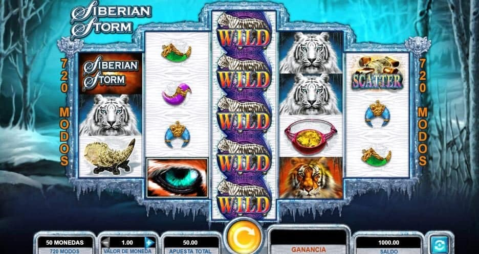 Siberian Storm slot game
