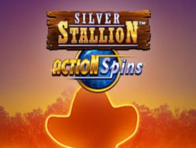 Silver Stallion Action Spins slot game