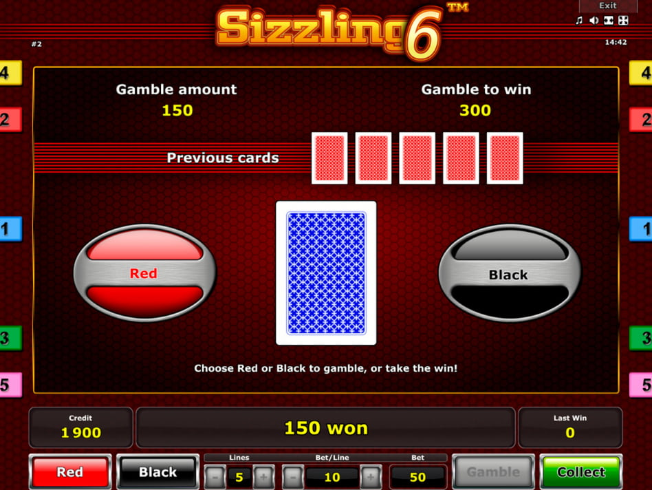 Sizzling 6 slot game