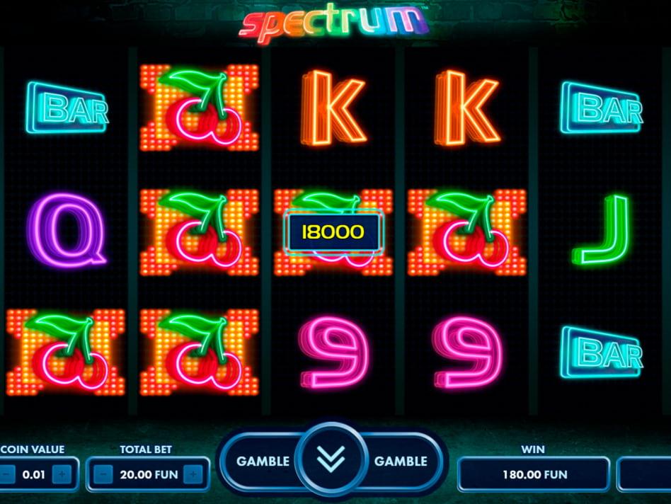 Spectrum slot game