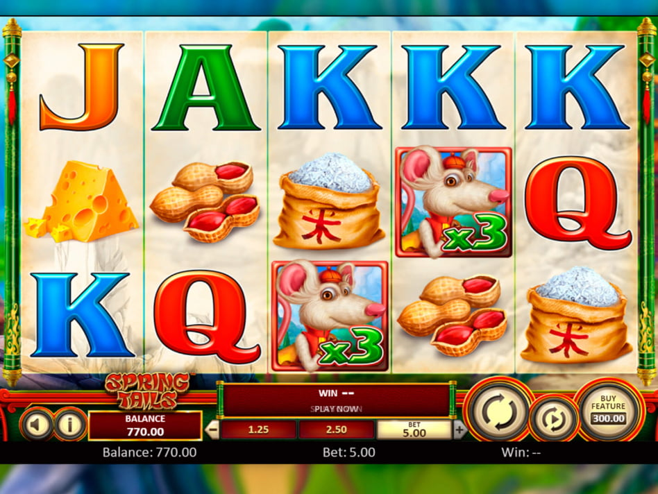 Spring Tails slot game