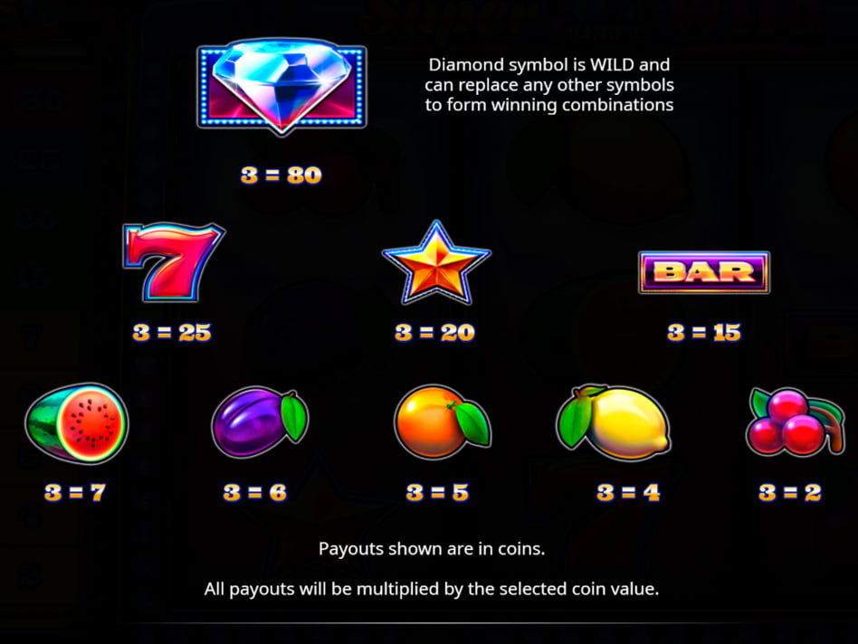 Super Diamond Wild slot game
