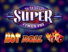 Super Times Pay Hot Roll slot game