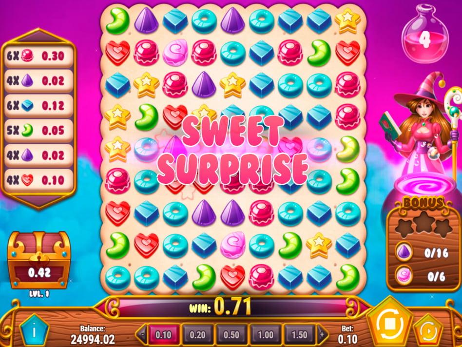 Sweet Alchemy slot game