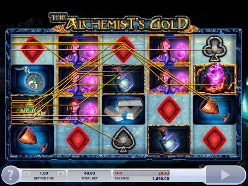 The Alchemist slot game