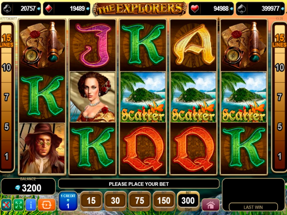 The Explorer's Quest slot game