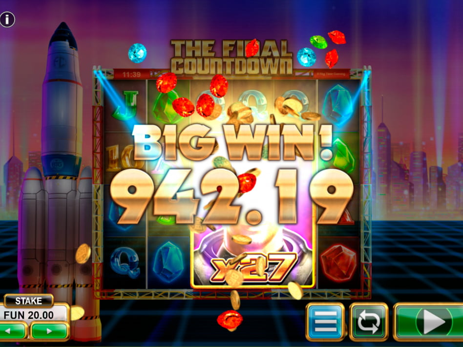 The Final Countdown slot game