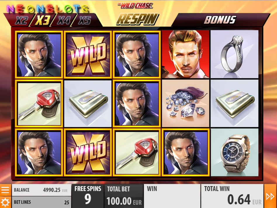 The Wild Chase slot game
