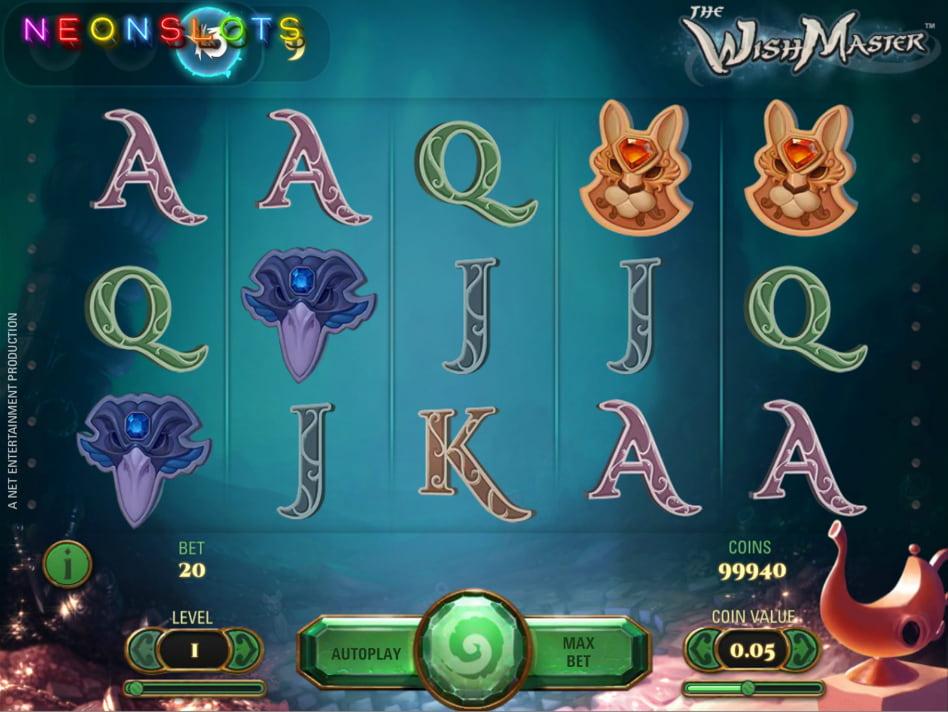 The Wish Master slot game