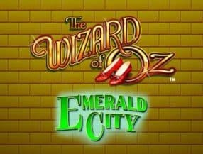THE WIZARD OF OZ Emerald City slot game