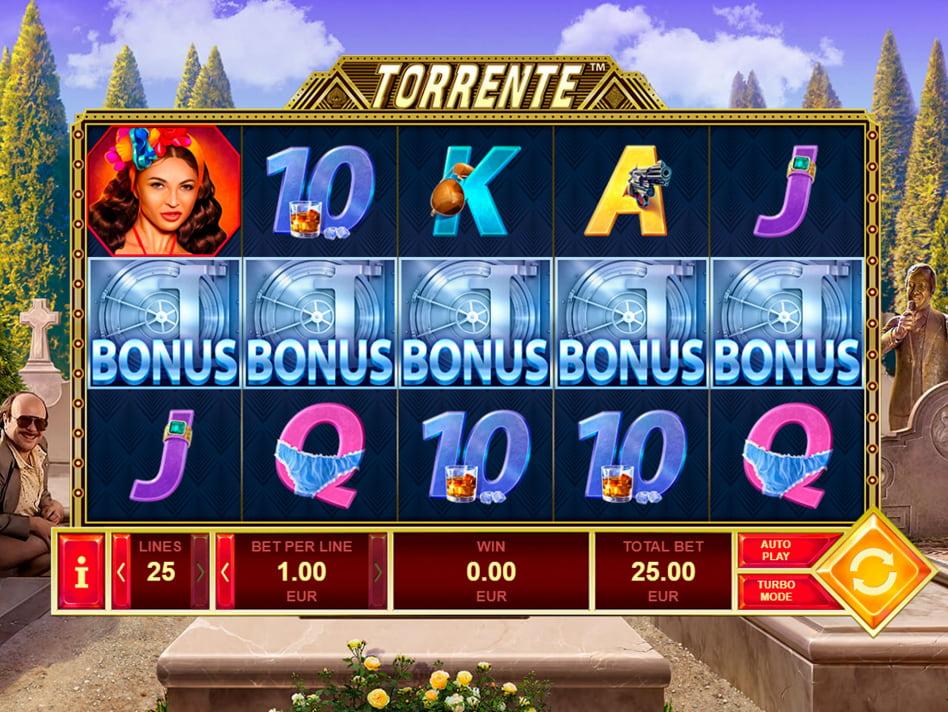 Torrente slot game