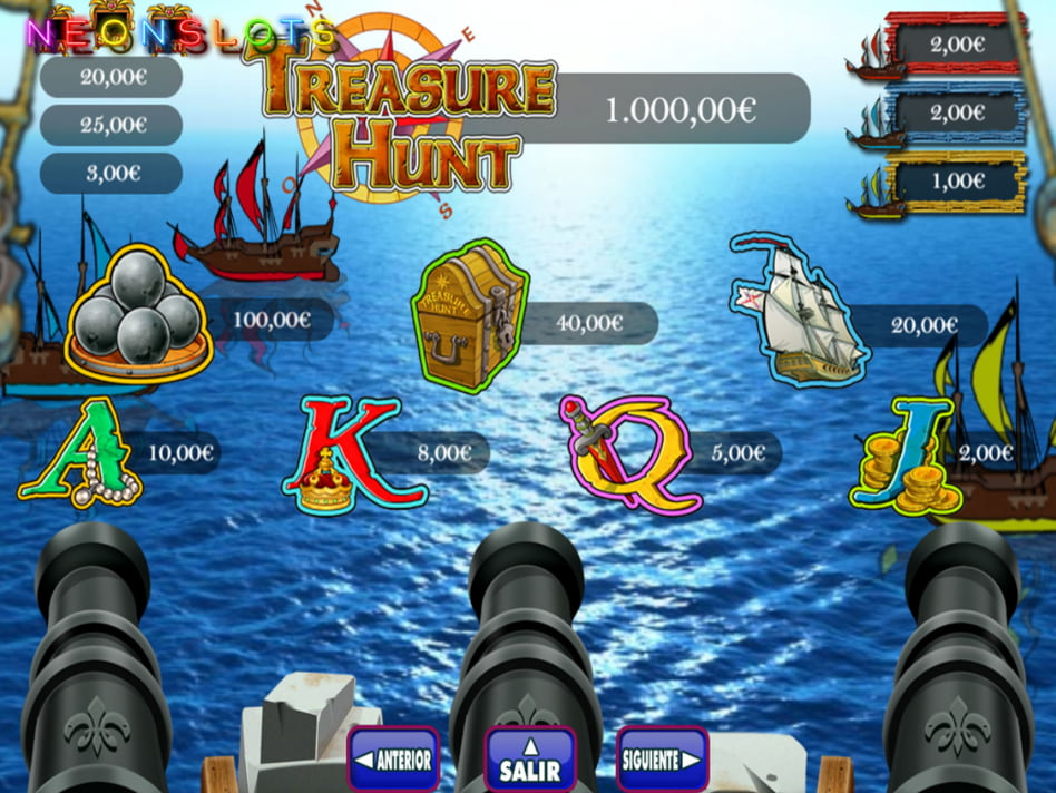 Treasures Of The 7 Seas slot game