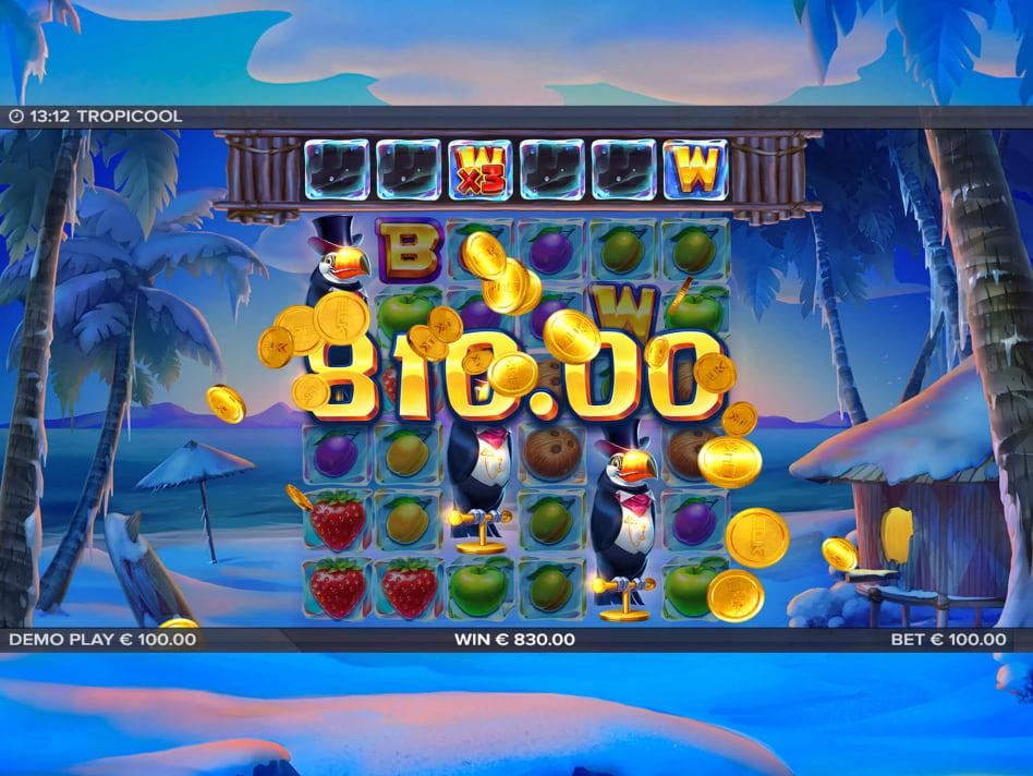 Tropicool slot game