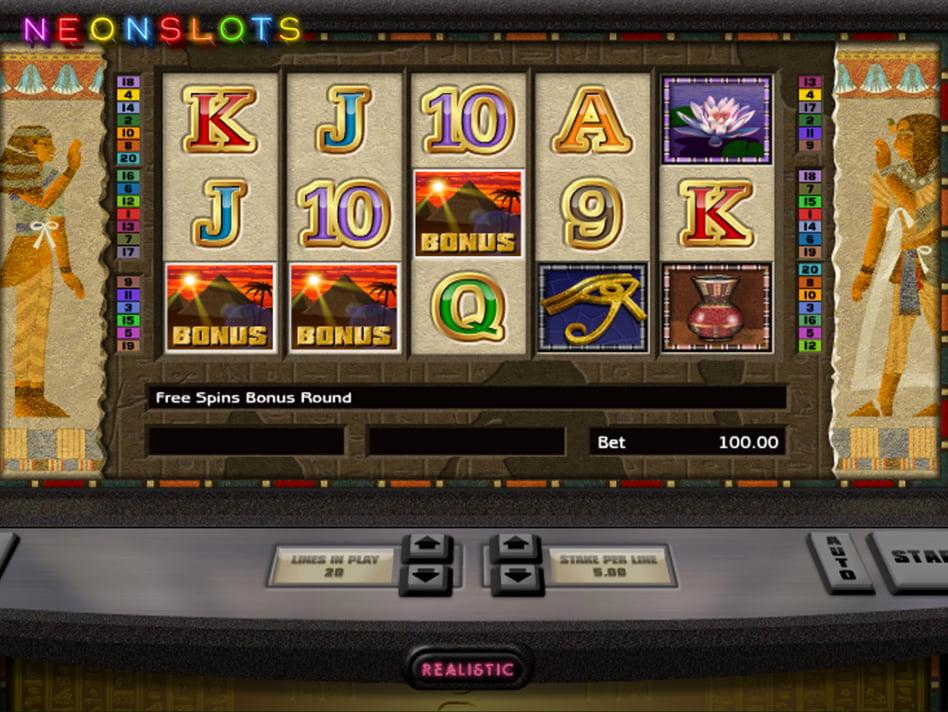 Tut's Twister slot game