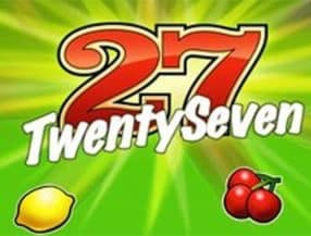 Twenty Seven slot game