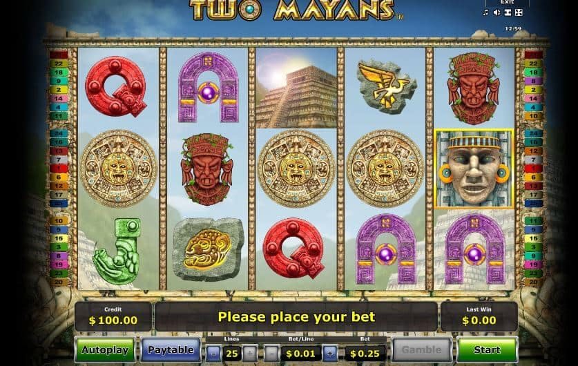 Two Mayans slot game
