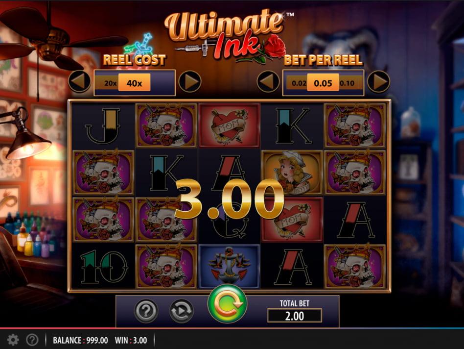 Ultimate Ink slot game
