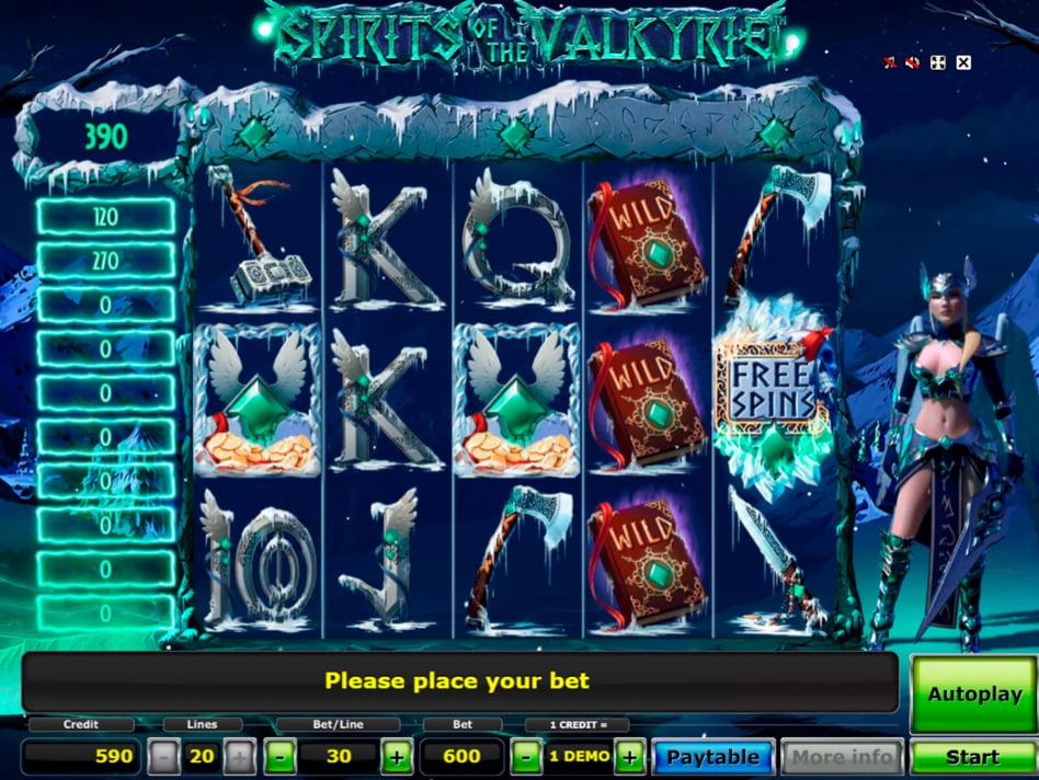 Valkyrie slot game