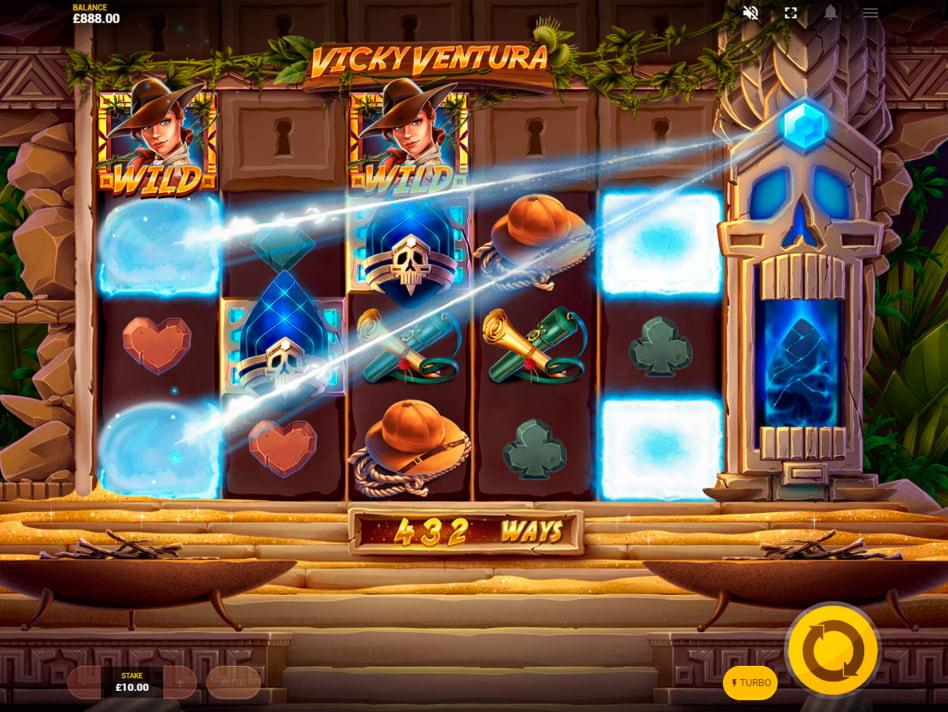 Vicky Ventura slot game