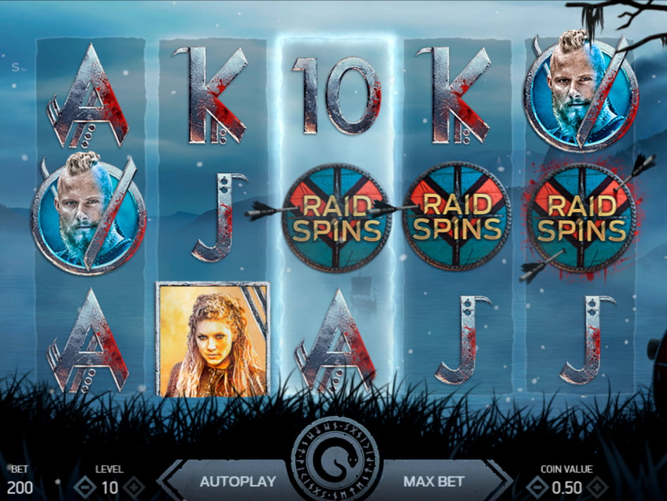 Viking's Rampage slot game