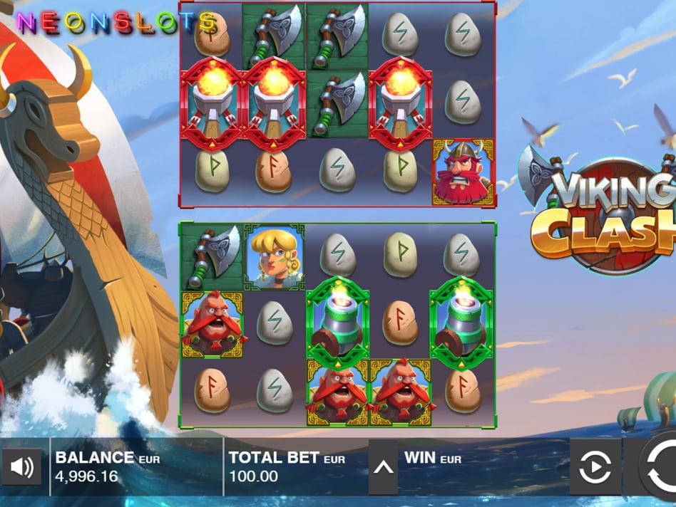 Viking Clash slot game