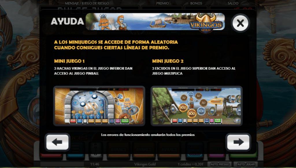 Vikingos Gold slot game