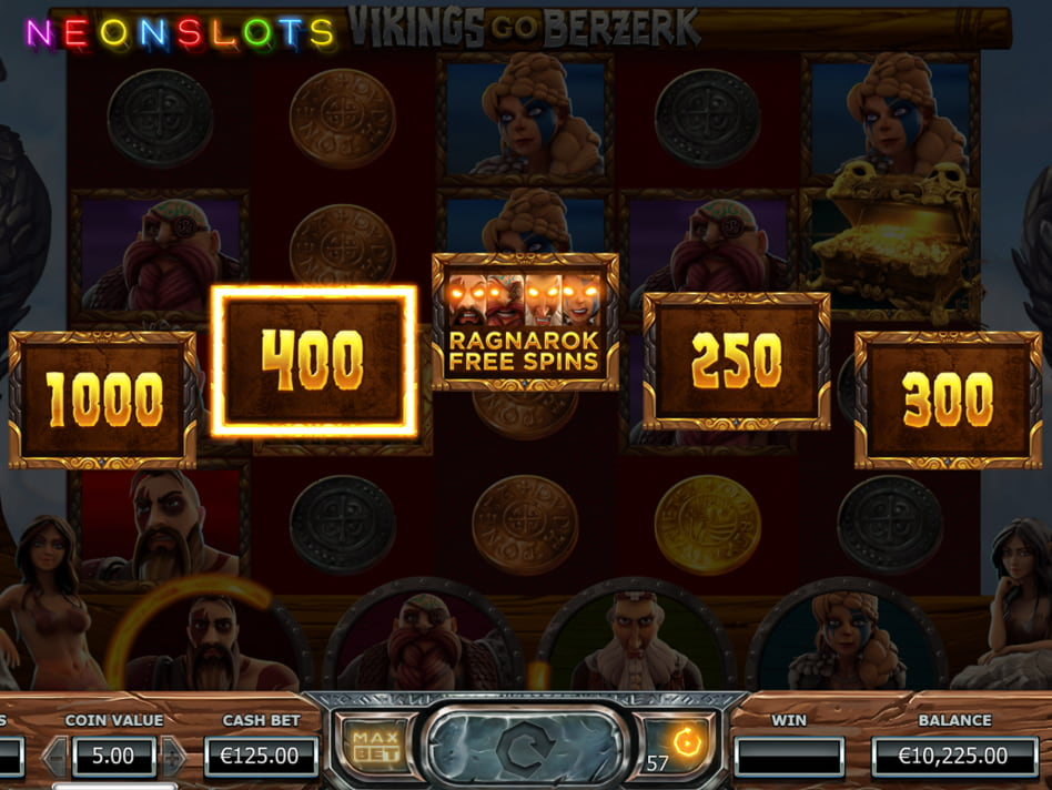 Vikings Go Berzerk slot game