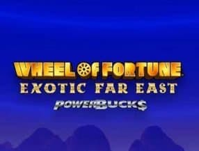 Wheel of Fortune Exotic Far East slot game
