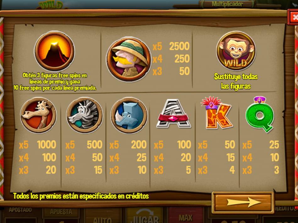 Wild Africa slot game
