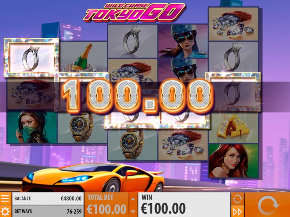 Wild Chase Tokyo Go slot game
