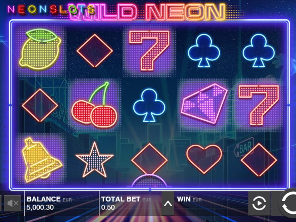 Wild Neon slot game