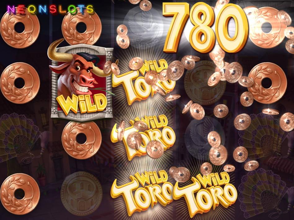 Wild Toro slot game