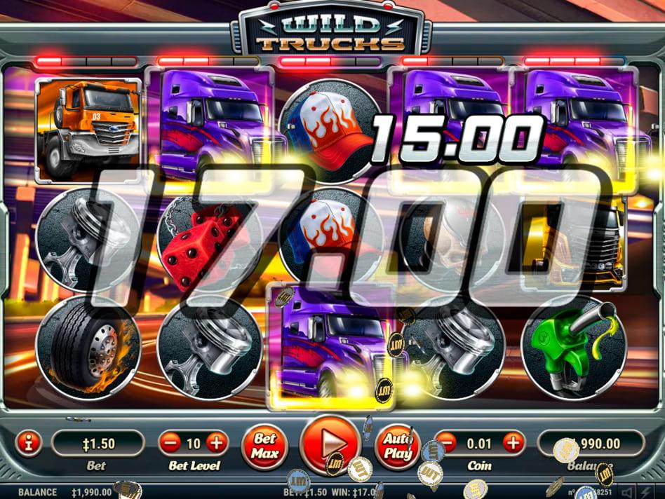 Wild Trucks slot game