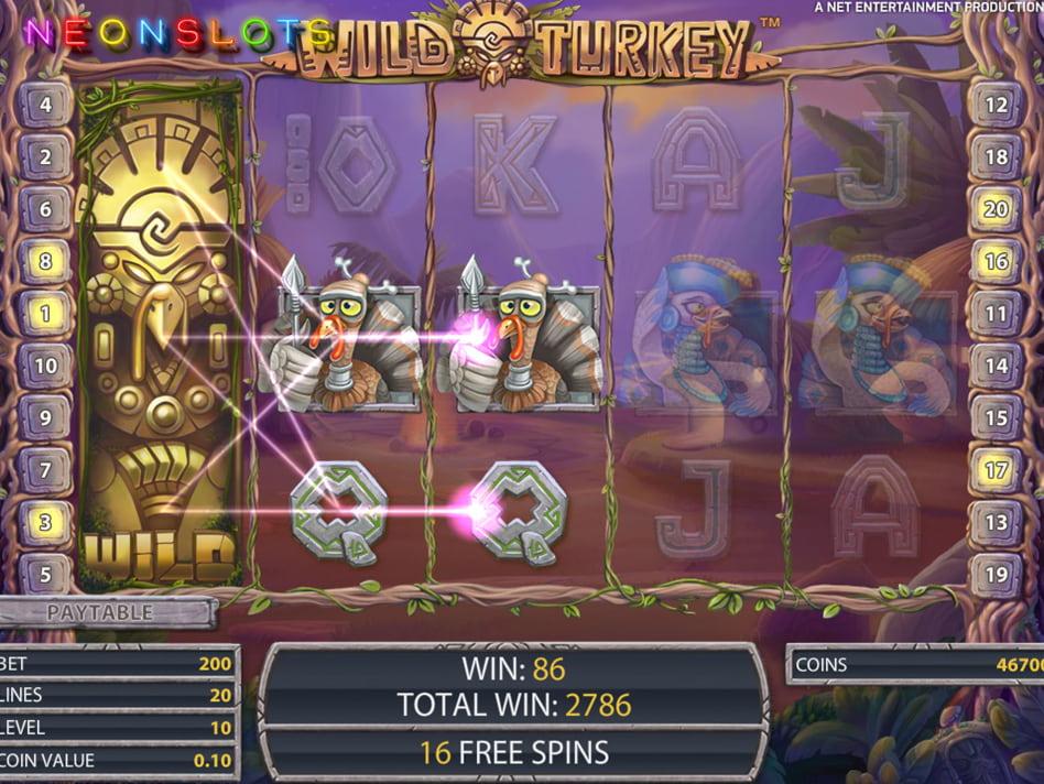 Wild Turkey slot game