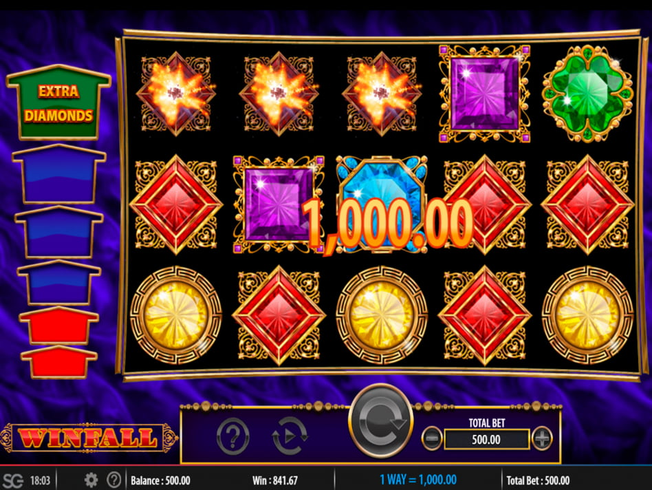 Winfall slot game