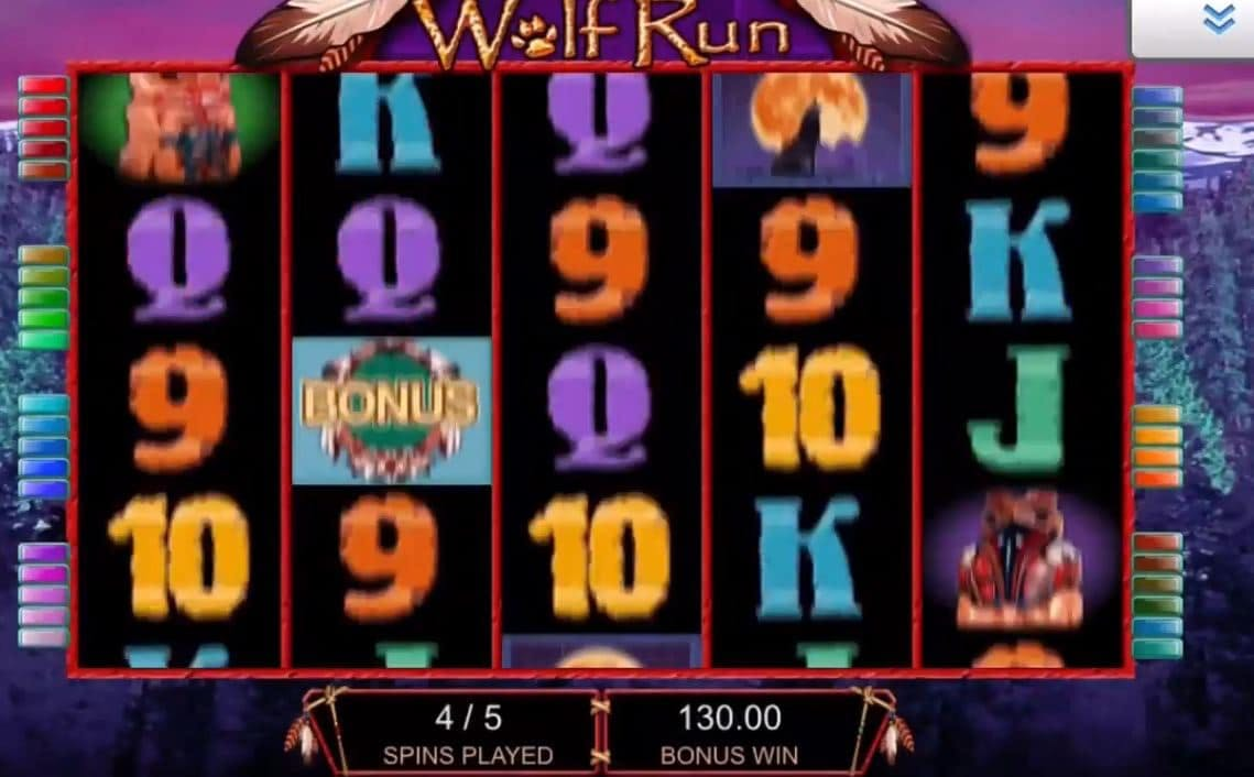 Wolf Run slot game