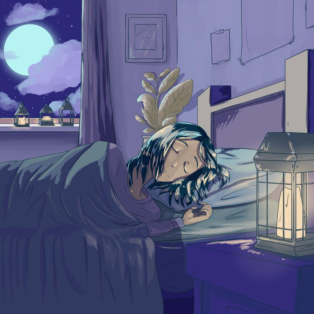 Insomnia Lofi 🌃 // Bedtime Lofi 💤 | Spotify Playlist Cover Art