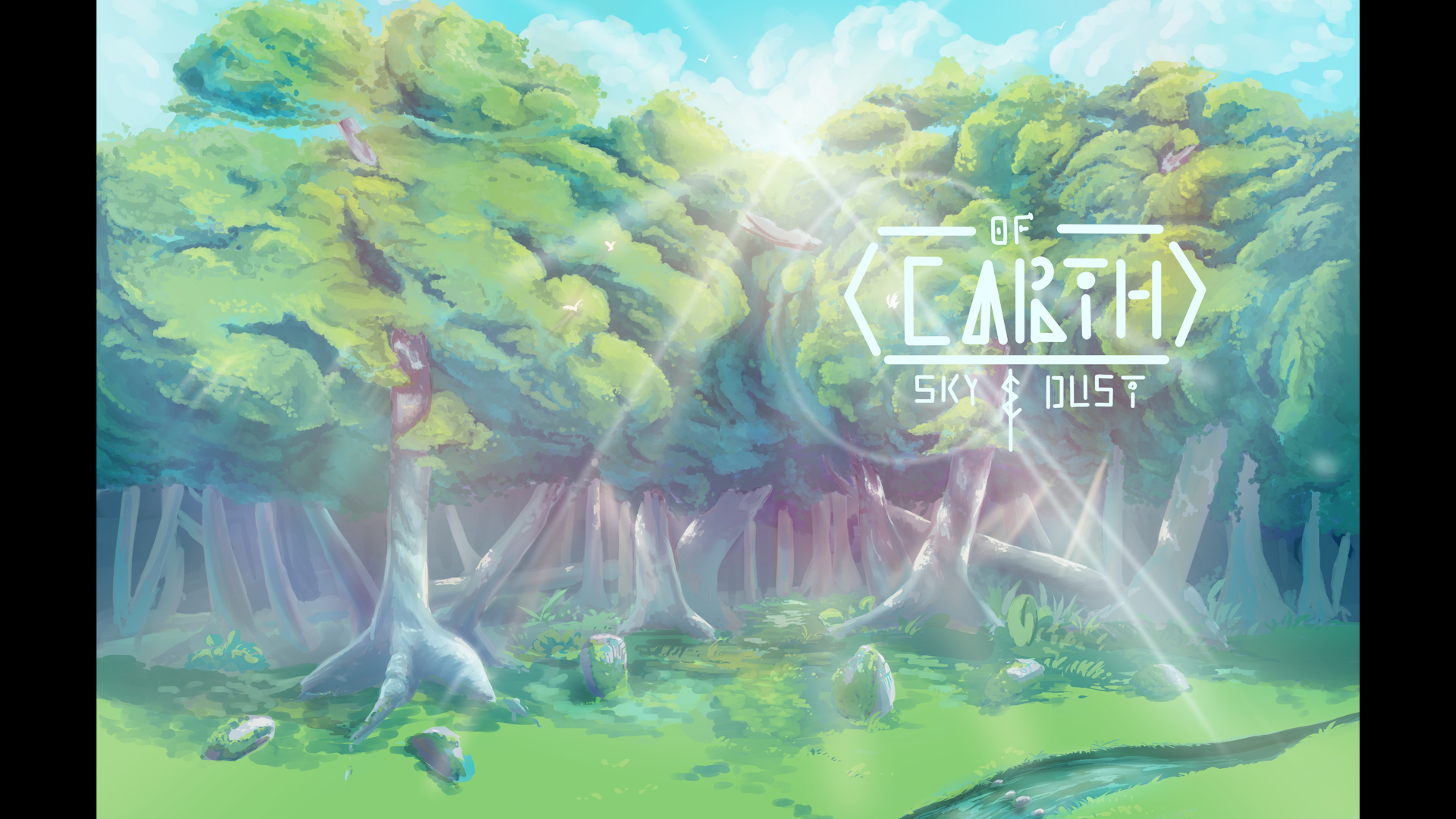 New Short Comic! Of Earth: Sky & Dust | Making the Cover Artwork