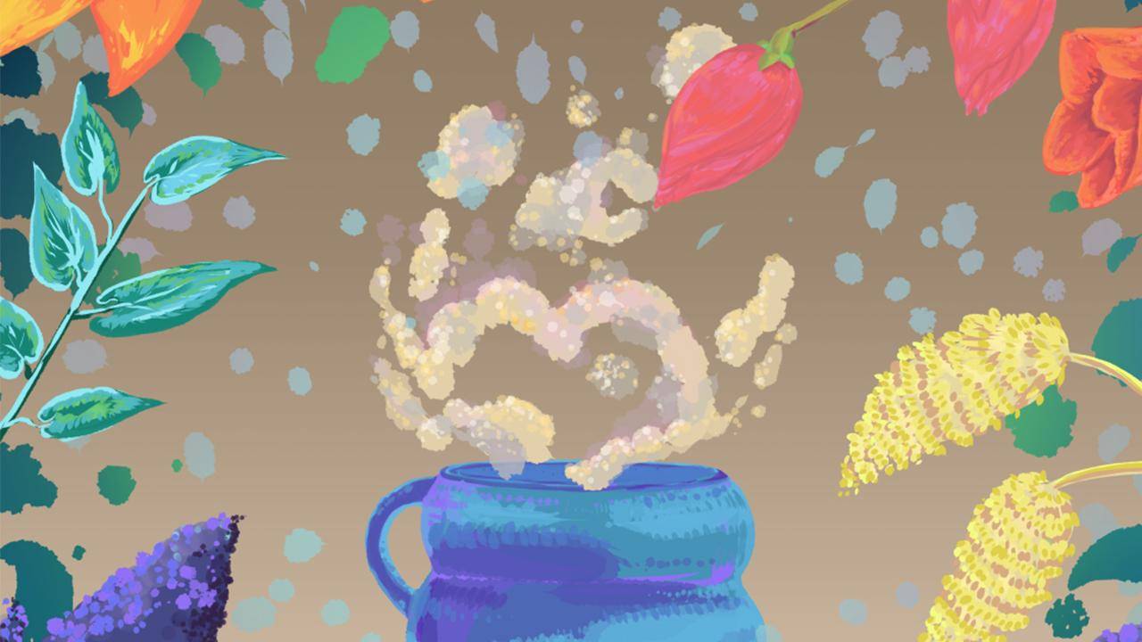 The Making of: Warm Autumn | Animated Ecard | Fall Lofi