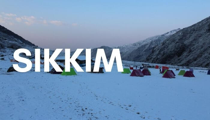 Sikkim during Christmas