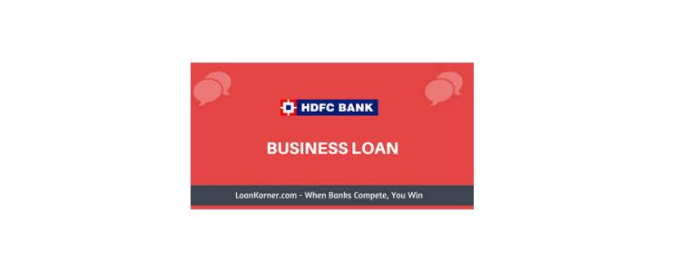 Hdfc business loan