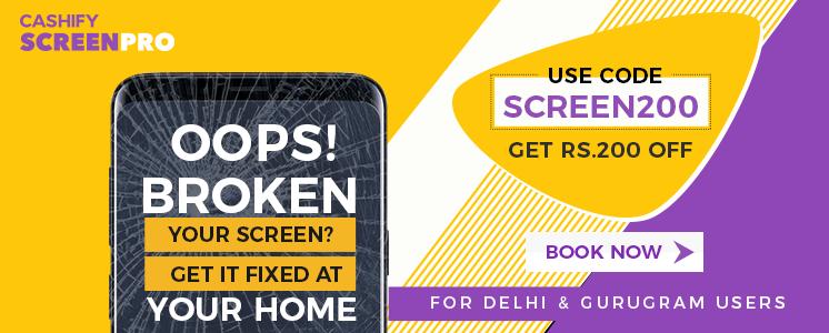 Cashify Screen pro
