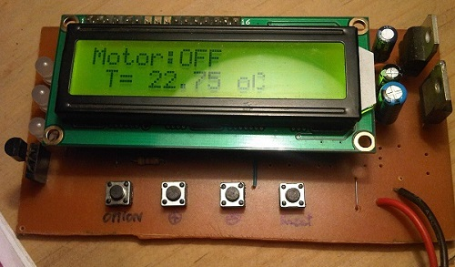 MSP430 Measure Temperature DS18B2 LCD 16x2