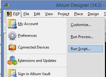 Altium Runscript