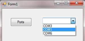 List COM port