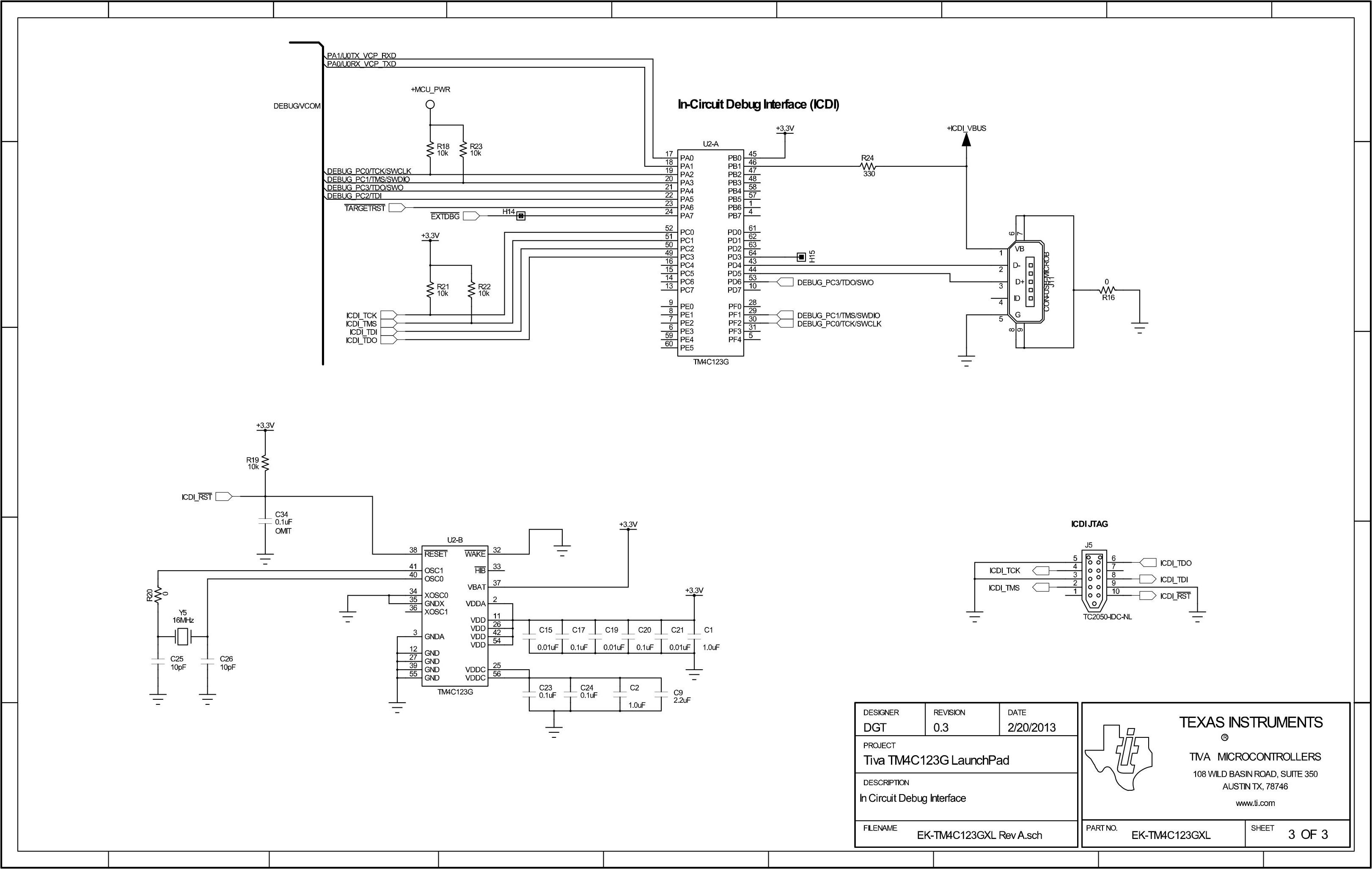 TivaC LaunchPad SCH 3