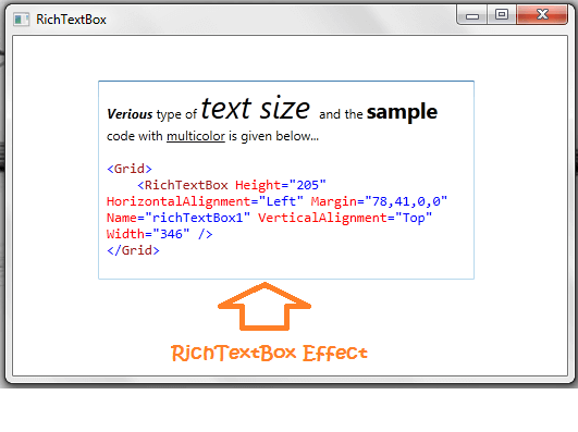 Add text into RichTextBox on WPF